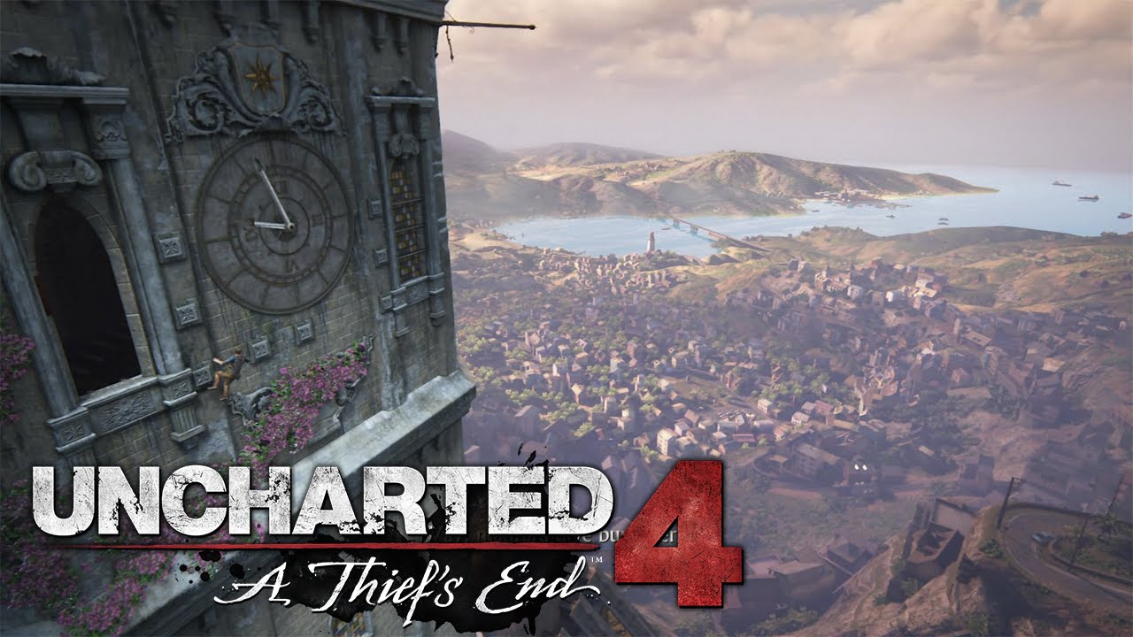 Uncharted 4 A Thief's End - 4x4 - Bölüm 8
