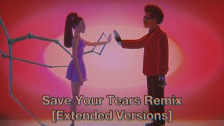 Download The Weeknd X Ariana Grande - Save Your Tears Remix [Extended Version] Audio