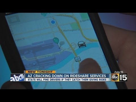 Cracking down on rideshare services like Uber