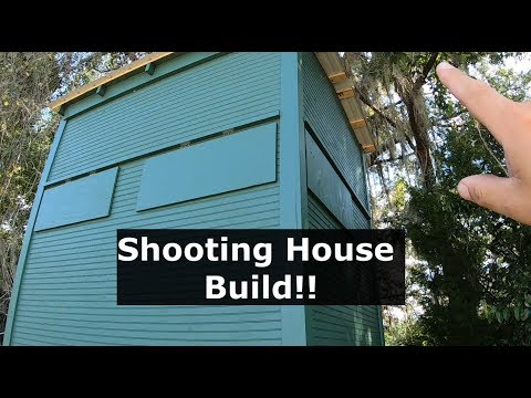 Ep #16 Deer Blind Build! 6x8 Shooting House