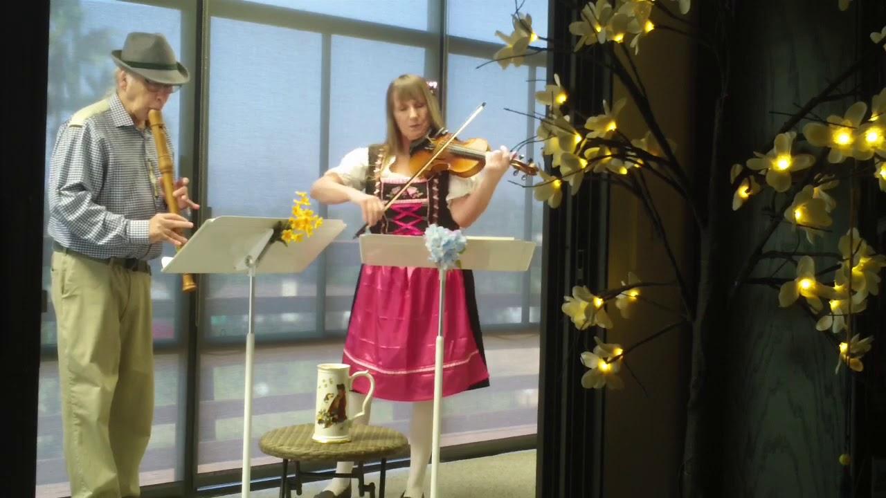 Oktoberfest Music Violin And Recorder Youtube