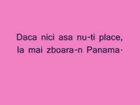 Panama song with lyrics