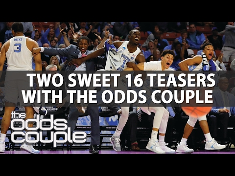 NCAA Tournament Sweet 16 Teaser Picks | The Odds Couple | Thursday, March 23