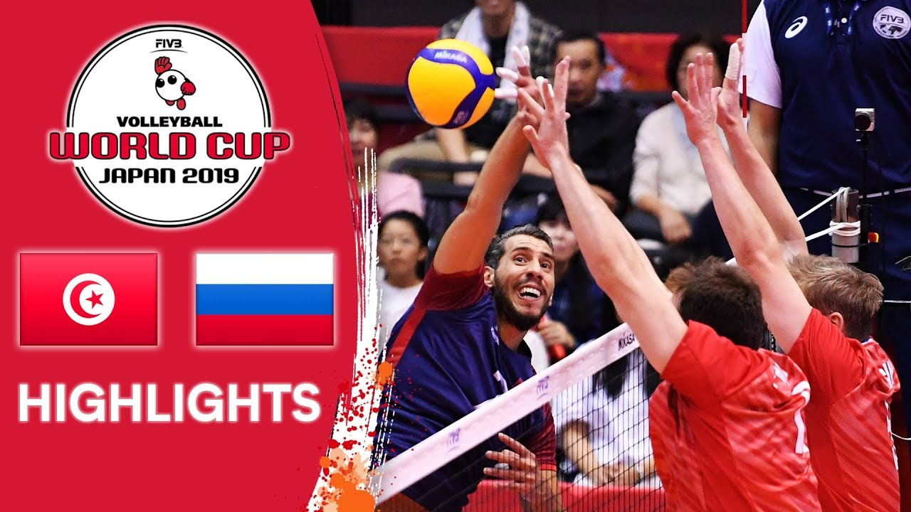 TUNISIA vs. RUSSIA - Highlights | Men's Volleyball World Cup 2019