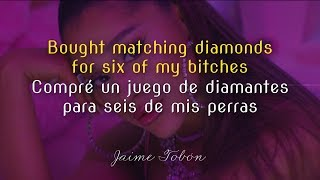 Ariana Grande —  7 rings (Lyrics & Sub Español) ♡ Video