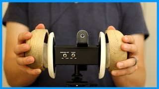 ASMR - Binaural Wooden Bowl Tapping (No Talking)