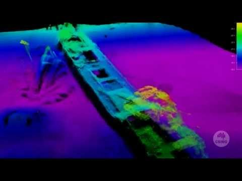 CSIRO Geophysical Survey and Mapping   Lake Illawarra shipwreck