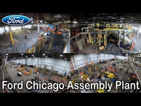 Ford Chicago Plant - Changeover Timelapse