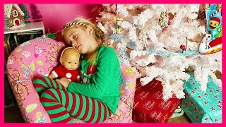 Early Surprise Christmas Presents from Santa w/ New Cabbage Patch Big Kids Limited Edition Baby Doll