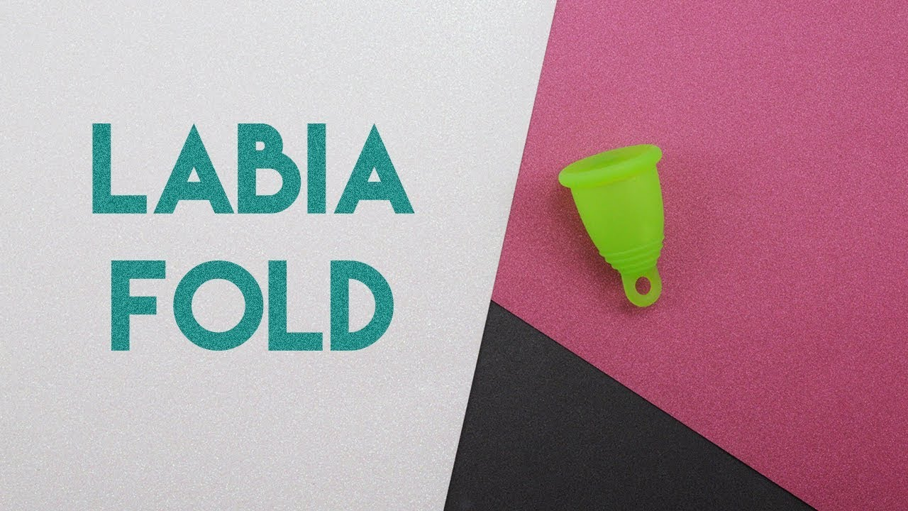 Labia Menstrual Cup Fold