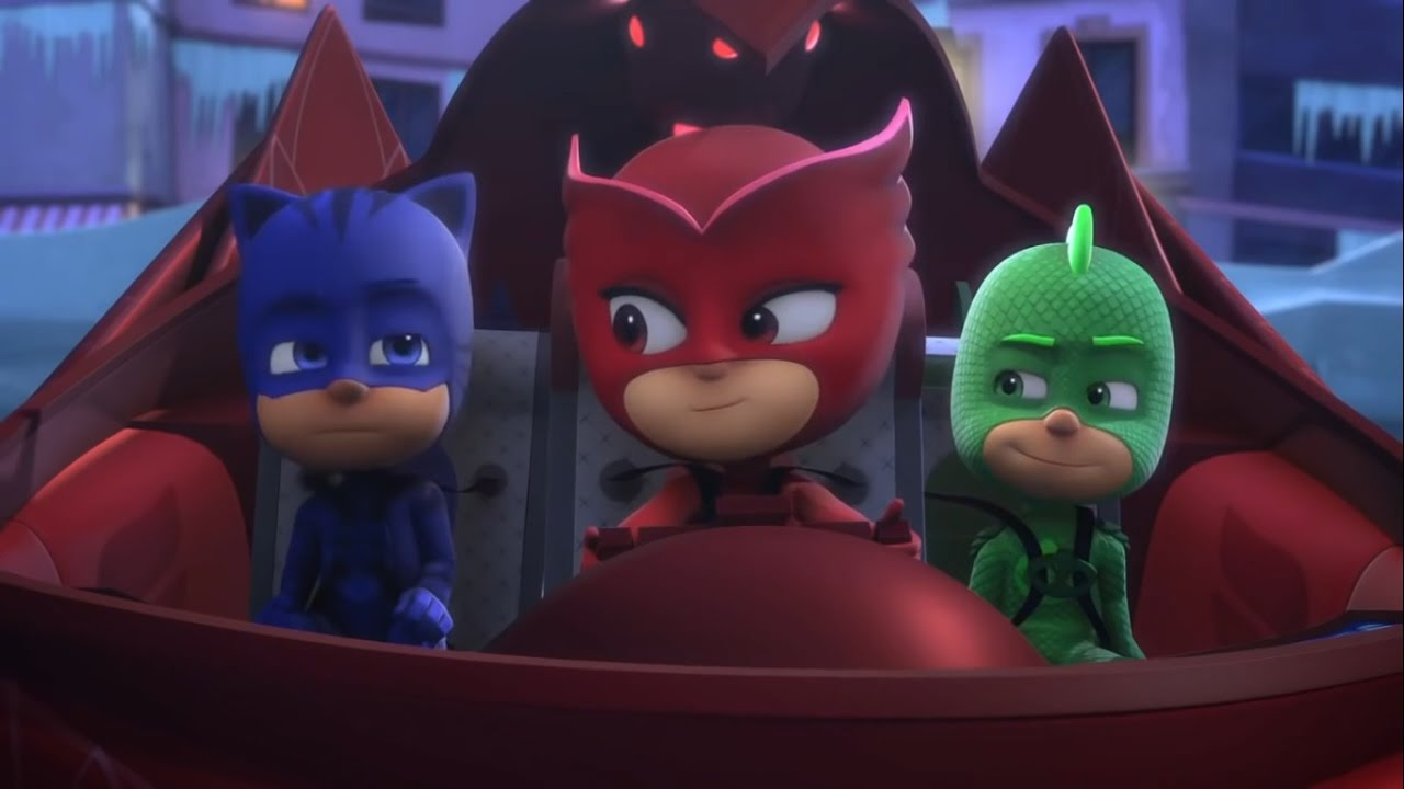 Pj Masks English Full Episodes ★ 5 ★ PJ Masks Disney Junior Video Full Episodes 2016