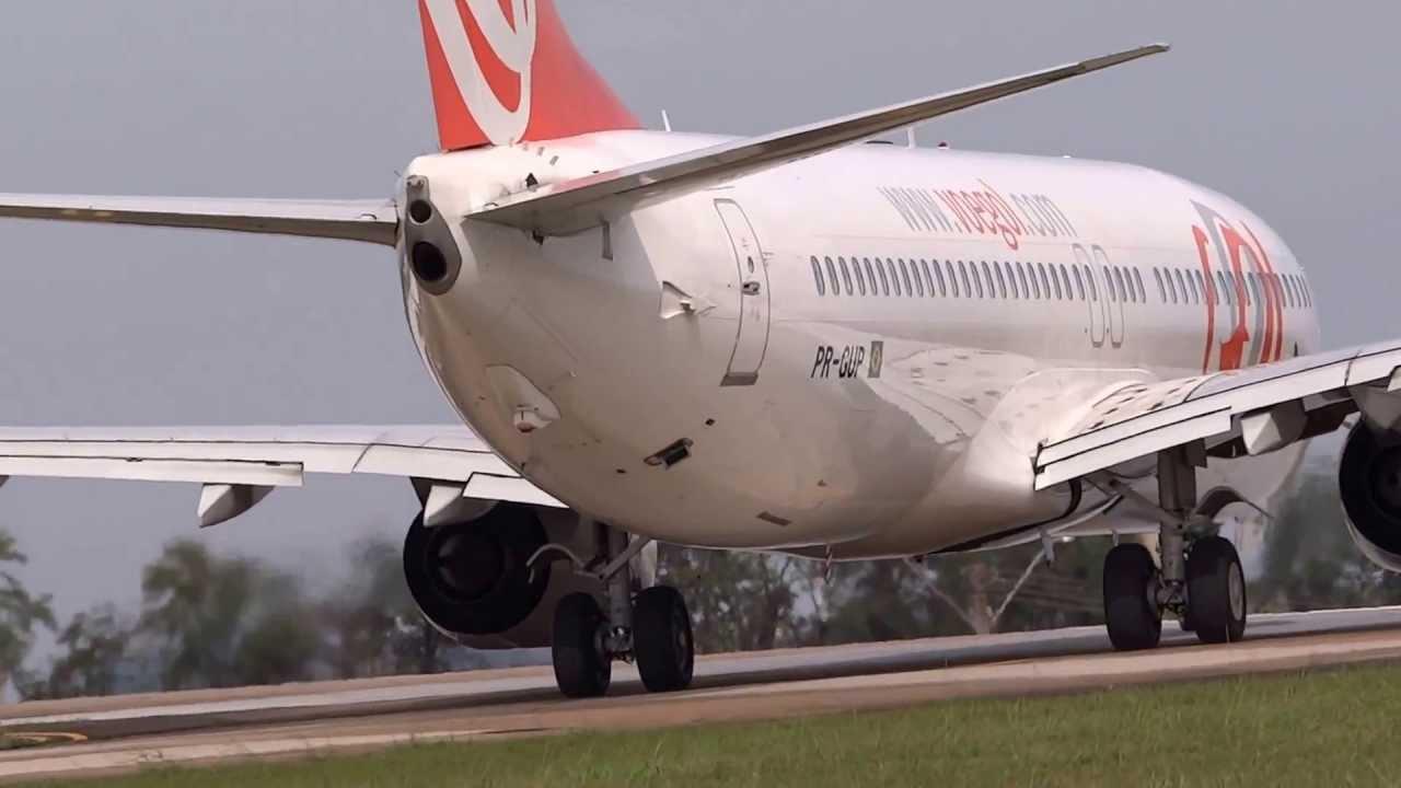 Pr Gup Gol 1219 Boeing 737 800 Aciona Motores E Decola Do