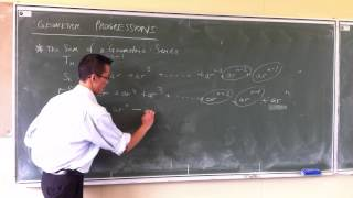 Intro to Geometric Progressions (2 of 2)