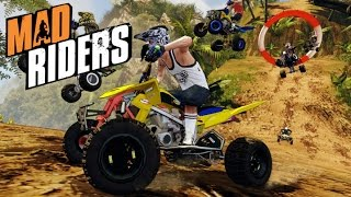 Mad Riders  PC/PS3/Xbox 360  -   Gameplay via Steam ►