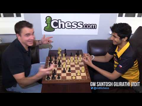 Another Brilliant Attack by Vidit Gujarathi: 2018 Chess.com Isle of Man International