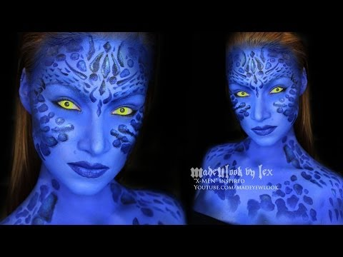 Mystique (X-Men) Makeup Tutorial AND ANNOUNCEMENT