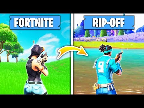 5 Games That COPIED Fortnite Battle Royale!
