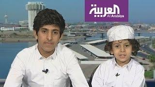 لقاء مضحك مع الطفل قُصي وخاله وليد الغابر في صباح العربية