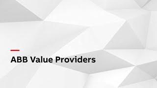 Video: ABB Value Providers