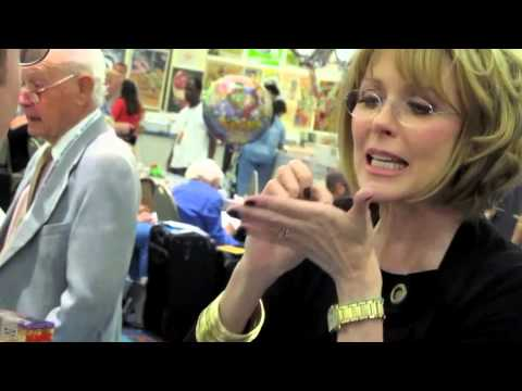 SUSAN BLAKELY Describes Her RICH MAN, POOR MAN Makeup @ Hollywood Show, Burbank 8.4.12