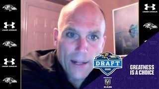 Ravens Press Conference After Day 2 of Draft | Baltimore Ravens