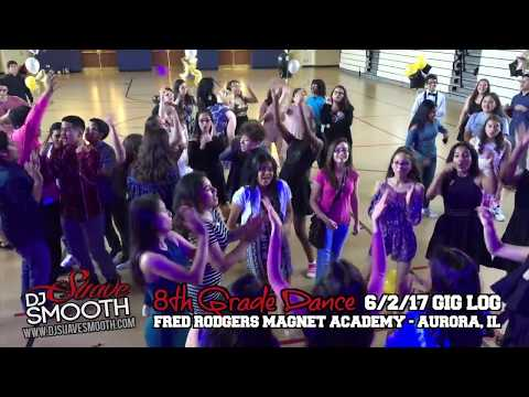 Fred Rodgers Magnet Academy 8th Grade Dance 2017 | Aurora, Illinois 5/18/17