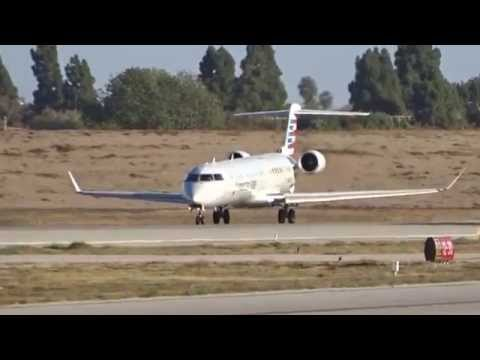 Mesa Airlines (American Eagle (US Airways Express)) Bombardier CRJ-900 N946LR LGB Takeoff 30