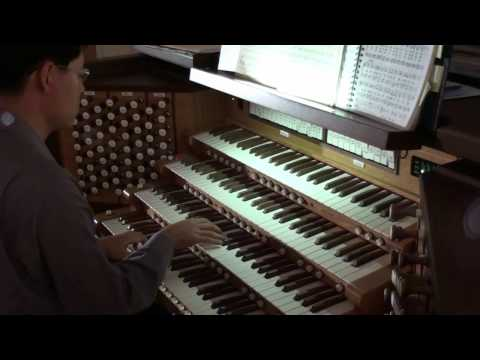 HD Mendelssohn Hochzeitsmarsch Wedding March - John Hong Organ Solo