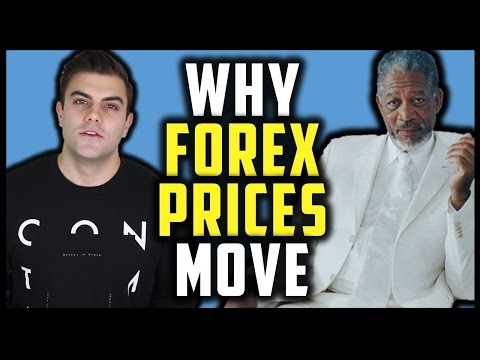 HOW AND WHY FOREX PRICES MOVE (currency market / foreign exchange rates}