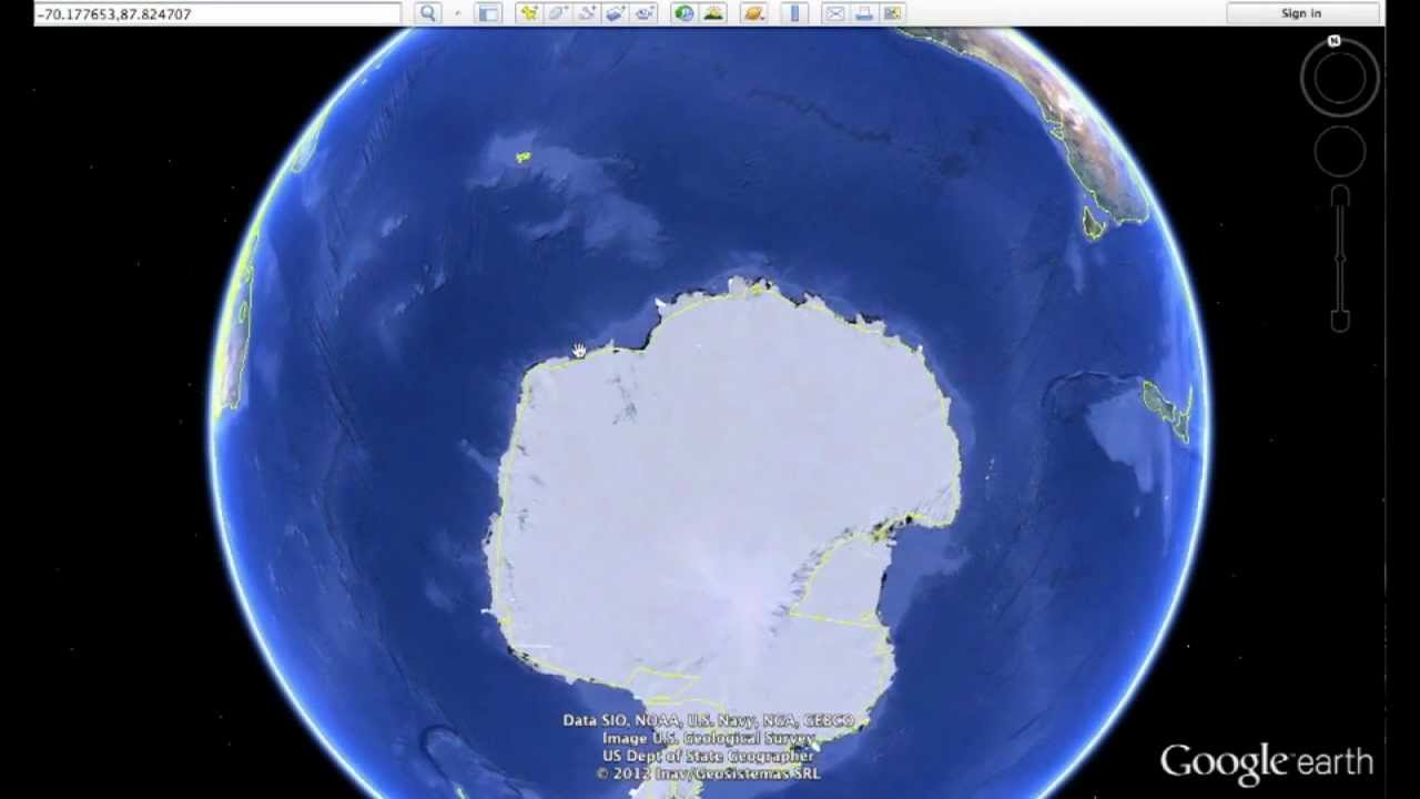 Mile Long THING Buried In Antarctica How To Find Using - Nyc map google earth