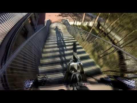Tak się kończy Downhill - pęknięta szczęka