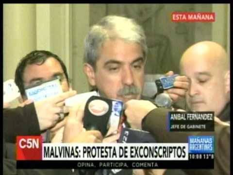 C5N - Politica: Habla Anibal Fernandez en Casa de Gobierno