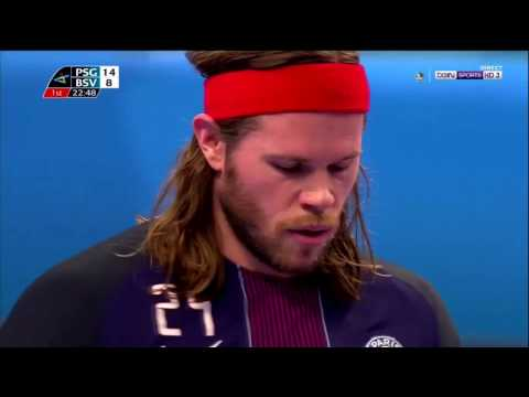 Mikkel Hansen Paris penalty Saint-Germain Handball  32 - 27  Bjerringbro-Silkeborg