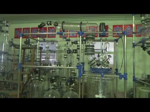 100L Glass reactor Distillation column 2