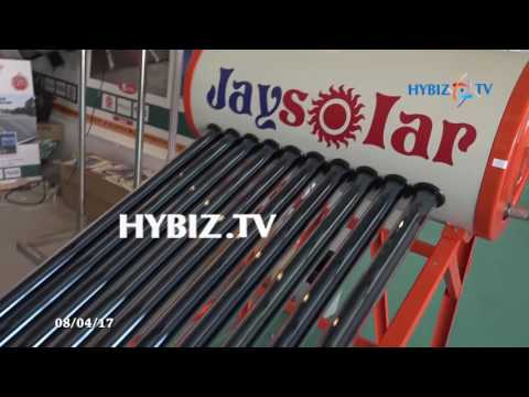 Jaysolar, Jay Renewable Energy | Renewx 2017 Exhibition Hyderabad | hybiz