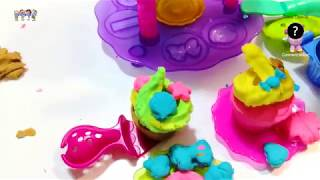 Play-Doh Chocolate Food Play Playdoh Sweet Shoppe +Confetti POP LOL+ Lalaloopsy +Bell Beauty