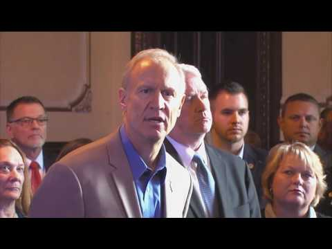 Gov. Bruce Rauner on Senate Bill 1