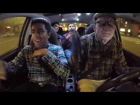 НЕРЕАЛЬНО БЫСТРО ЗАЧИТАЛ РЭП. Парень в гриме, читает рэп пассажирам.