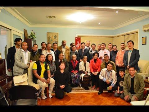 U Ko Ni Advisor to the NLD meets Sydney  Burmese Community(B) 23 - 8 - 2016