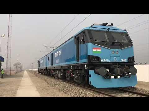 PM Modi flags off first 12,000 HP electric locomotive from Madhepura in Bihar