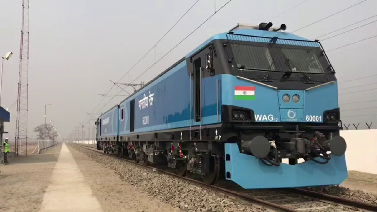 PM Modi flags off first 12,000 HP electric locomotive from ...