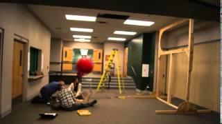 2014 Shooting the yoga ball