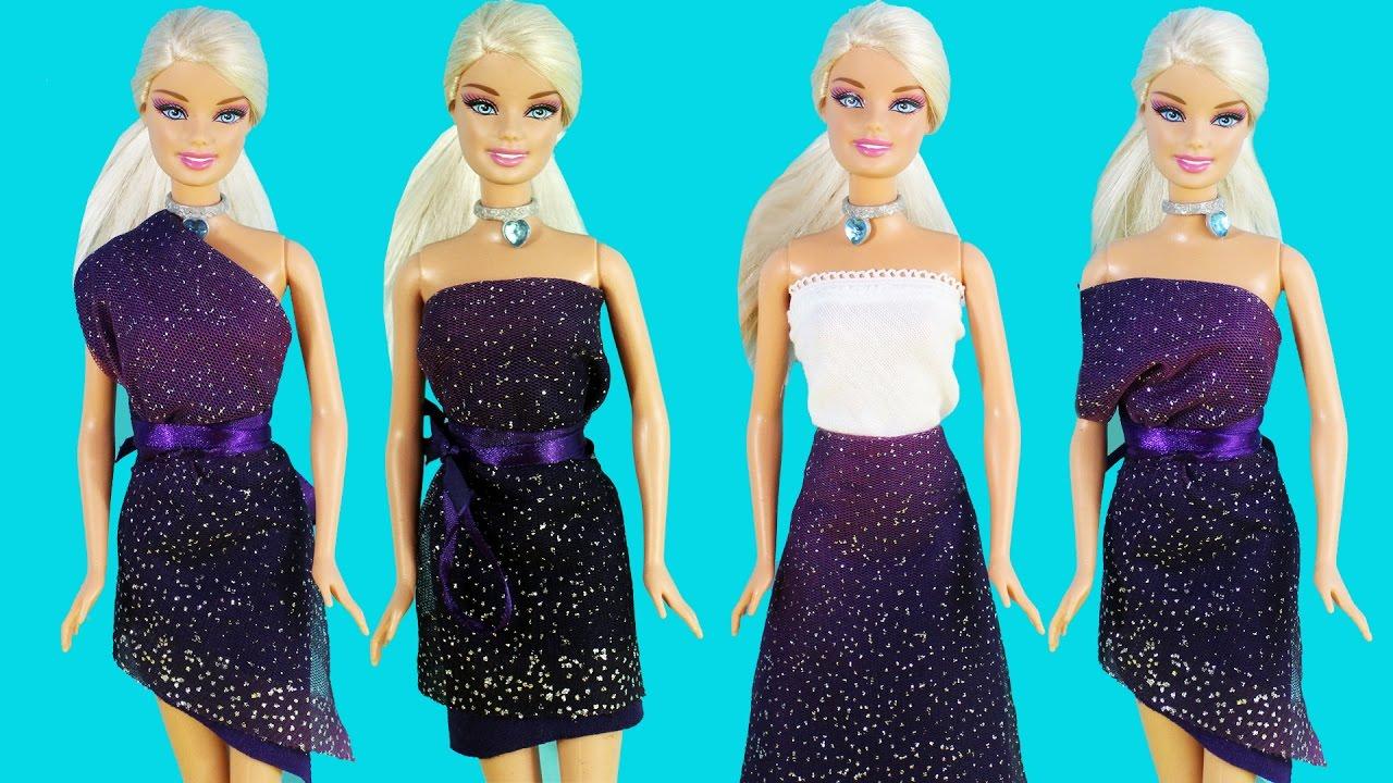 Barbie Magica Para Coser Muñecas Sin Diy Falda nxq8z0wgpp