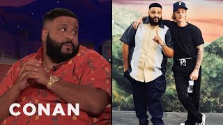 DJ Khaled Is Releasing A New Song With Justin Bieber  - CONAN on TBS Video