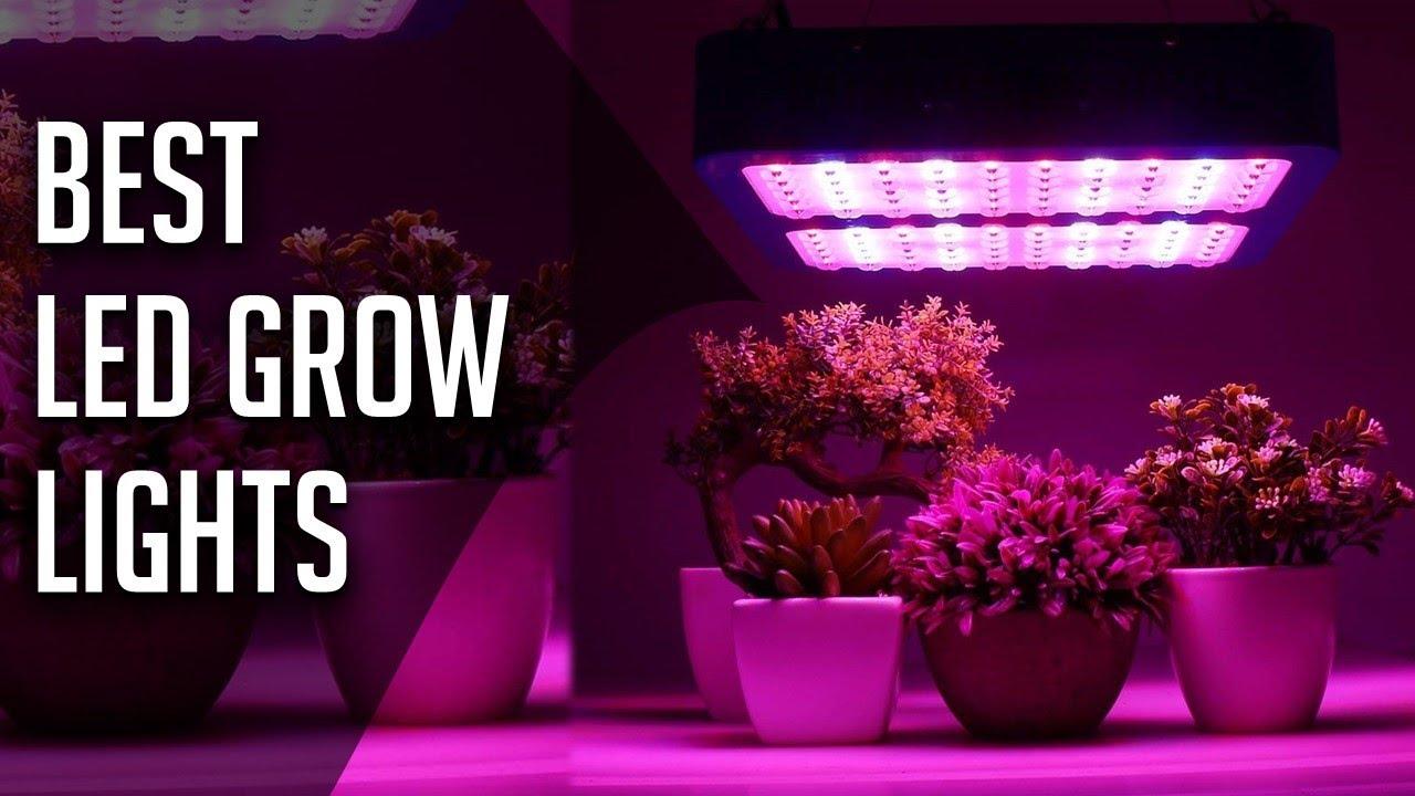 10 Best Led Grow Lights 2018 2019 Youtube