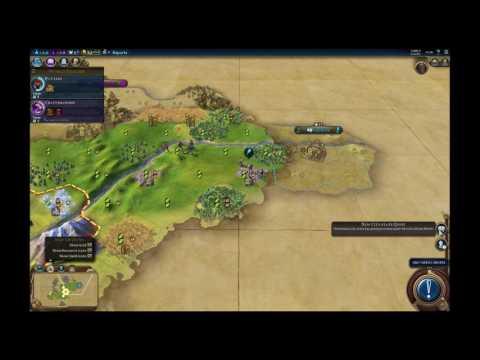 Let's Play Civilization 6 – Kongo/Duel/King – Part 1/5