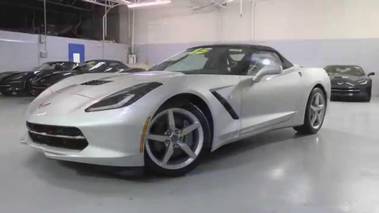 2015 Blade Silver Corvette Convertible Stasek Chevrolet