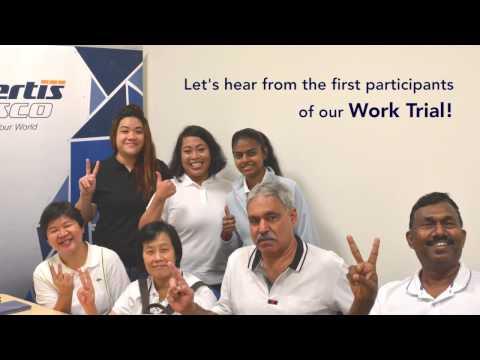 Reskilling for jobs - Certis CISCO Work Trial