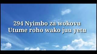Utume Roho yako juu yetu ( 294 NW )