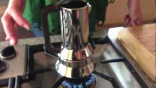 How to use the Alessi Richard Sapper espresso maker 9090